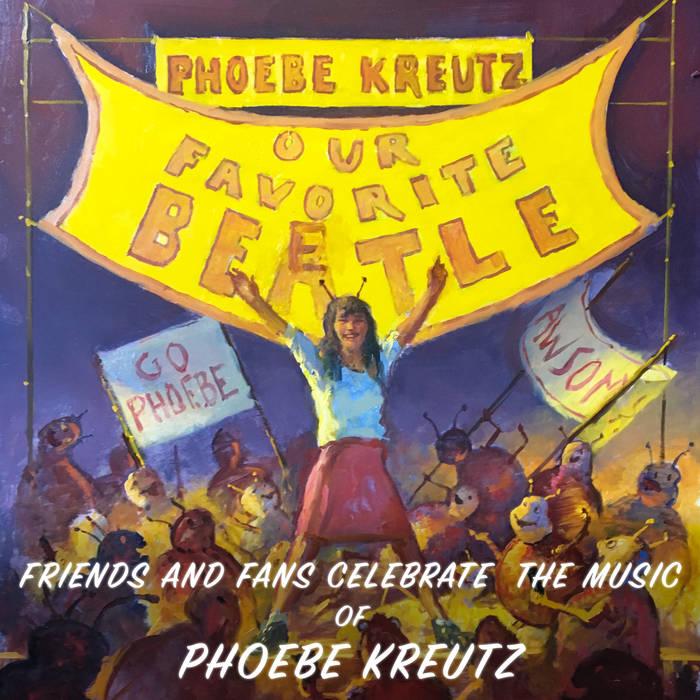 Cover Phoebe Kreutz compilation