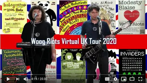 Woog Riots Virtual UK Tour 2020 - Bristol