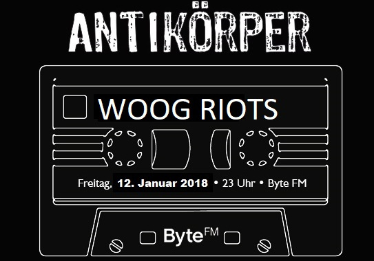Woog Riots ByteFM Antikoerper session